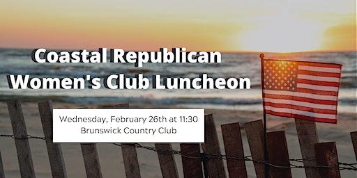 Coastal Republican Women's Club February Luncheon