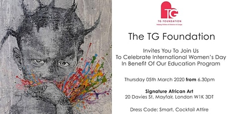 International Women's Day Art Preview with TG Foundation tickets