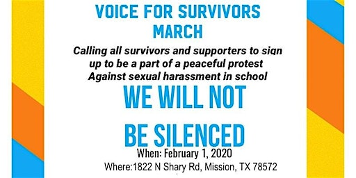Voice for survivors march