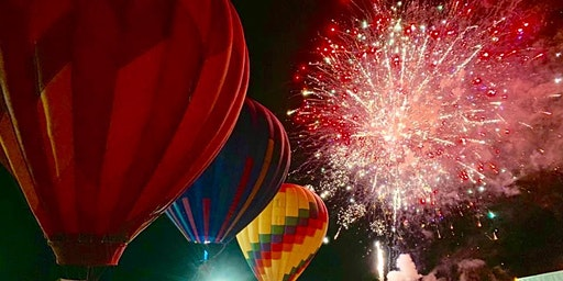 Fredericksburg Fireworks and Hot Air Balloon Experience