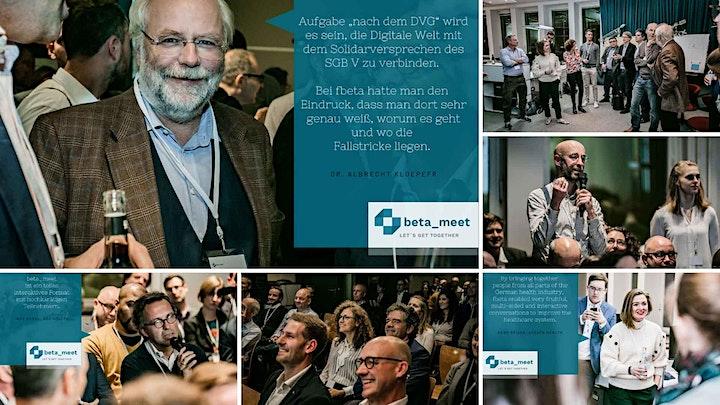 Fast-Track-Rechtsverordnung: Fragen, verstehen, diskutieren. beta_meet BMG!: Bild