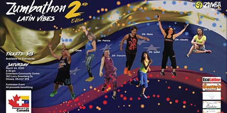 Zumbathon - Latin Vibes - Second Edition tickets