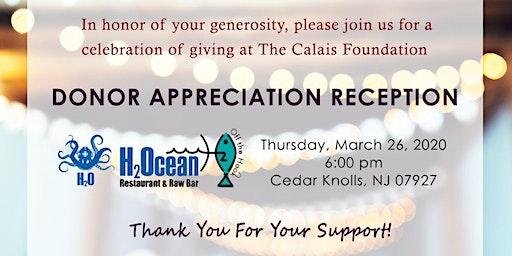 The Calais Foundation Donor Appreciation Reception