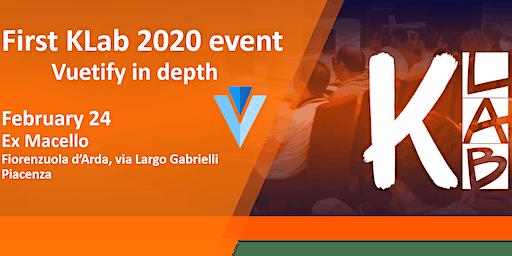 KLab 2020 #1 - Vuetify in depth