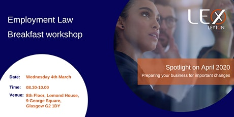 Employment Law Breakfast Workshop – Glasgow tickets