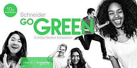 Schneider Go Green ITESM CCM Design-Thinking Workshop entradas