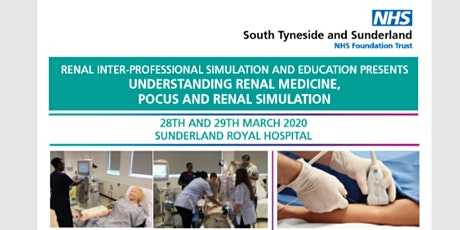 UNDERSTANDING RENAL MEDICINE, POCUS AND RENAL SIMULATION EVENT tickets