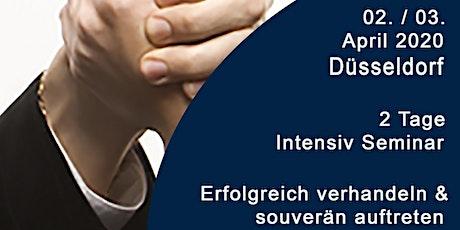 Top Verhandlungstraining - Erfolgreich Verhandeln & Souverän auftreten Tickets
