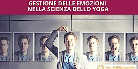 gestione delle emozioni nella scienza dello yoga biglietti