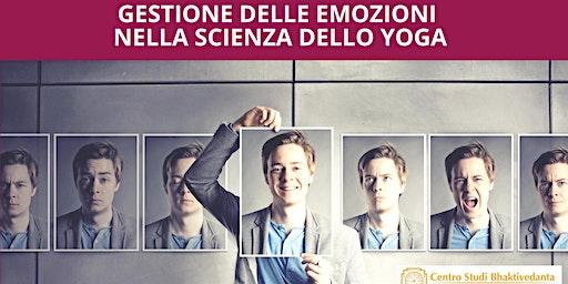 gestione delle emozioni nella scienza dello yoga