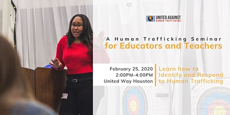 For Educators: A Training on Human Trafficking tickets