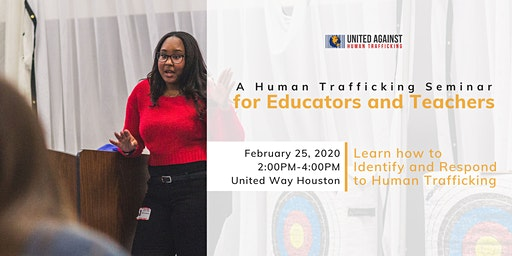 For Educators: A Training on Human Trafficking