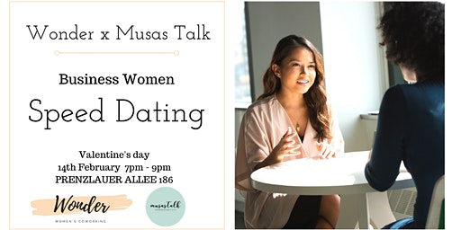 International Business Women Speed Dating