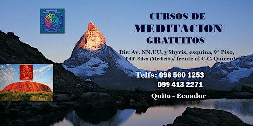 Curso gratuito de Meditacion Sahaja Yoga