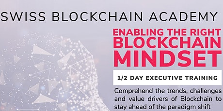 Blockchain Mindset Executive Training tickets