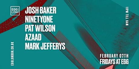 Fridays at EGG: Josh Baker, NinetyOne, Pat Wilson tickets