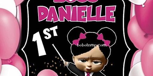Boss Danielle 1st Birthday