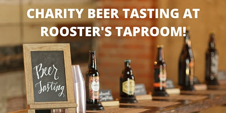 Charity Beer Tasting at Rooster's Brewing Co. Taproom tickets