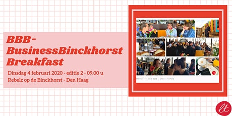 BBB - Business Binckhorst Breakfast tickets