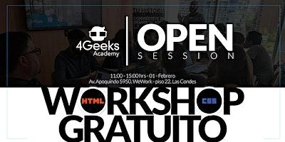Open Session: Workshop Gratuito - Principios básicos de HTML y CSS