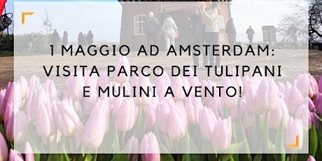 1 Maggio 2020: visita parco dei tulipani e mulini a vento in LINGUA ITALIANA tickets