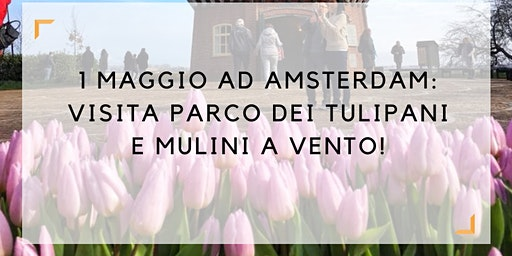 1 Maggio 2020: visita parco dei tulipani e mulini a vento in LINGUA ITALIANA