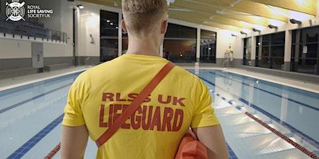 RLSS National Pool Lifeguard Qualification tickets