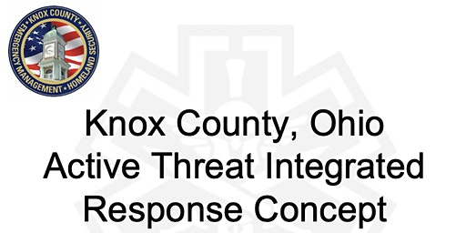 Knox Co Active Threat Integrated Response Concept Training