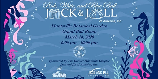 Pink, White, and Blue Children's Ball and Fundrasier