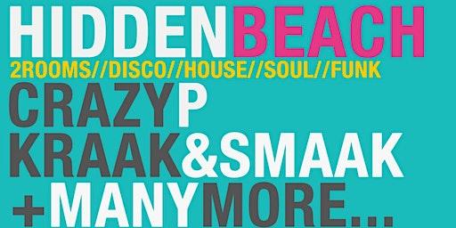 Crazy P (Sound System) // Kraak & Smaak // Femi Fem @ HiddenBeach