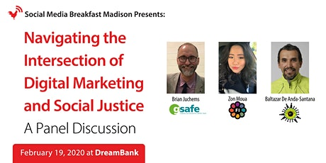 Navigating The Intersection Of Digital Marketing and Social Justice - A Panel Discussion tickets