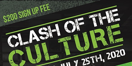 Clash Of The Culture tickets