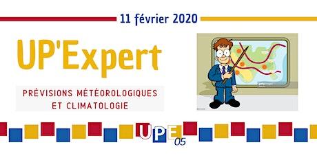UP'Expert | Prévisions météorologiques et climatologie billets