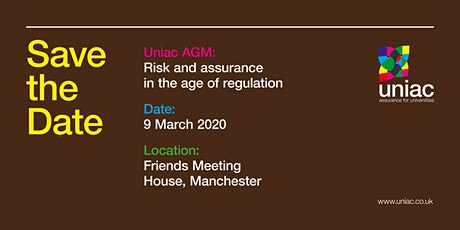 Risk and Assurance in the Age of Regulation tickets