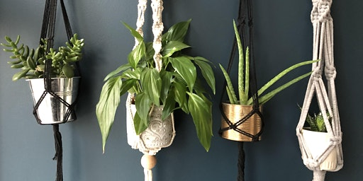 Macramé Plant Hanger Workshop