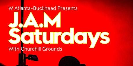 W Atlanta-Buckhead Presents J.A.M Saturdays with Churchill Grounds tickets
