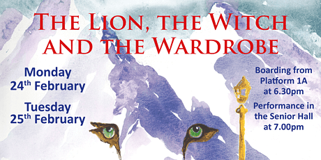 The Lion, the Witch and the Wardrobe - Tuesday 25th February tickets