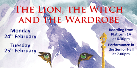 The Lion, the Witch and the Wardrobe - Monday 24th February tickets