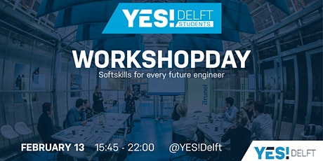 Workshopday YES!Delft Students 13/02/2020 tickets