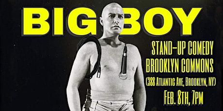 Big Boy Comedy Show (FREE!) tickets