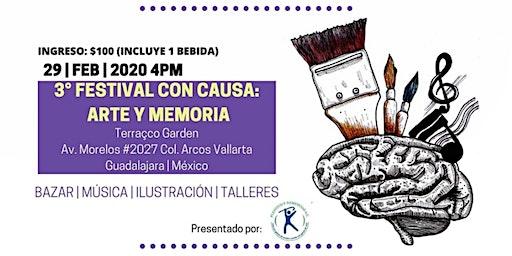 Tercer festival con causa: ARTE Y MEMORIA