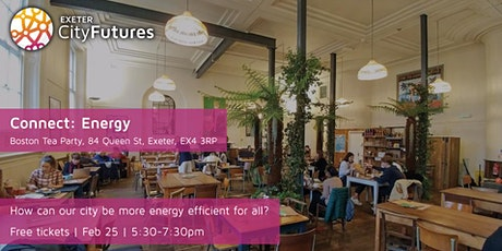 Exeter City Futures Connect: Energy tickets