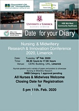HSE West/Midwest Nursing & Midwifery Research & Innovation Conference 2020 tickets
