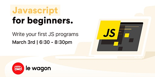 JavaScript for Beginners with Le Wagon