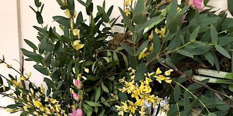 Spring Living Wreath Floristry Workshop tickets