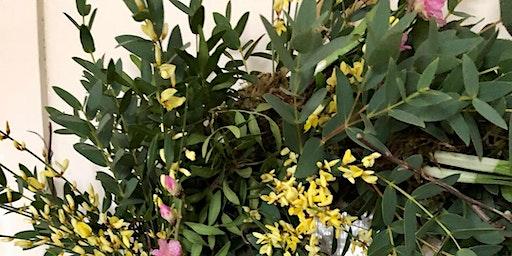Spring Living Wreath Floristry Workshop