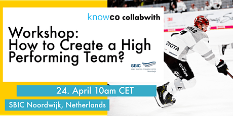 ONLINE WORKSHOP: How to Create a High-Performing Team? tickets