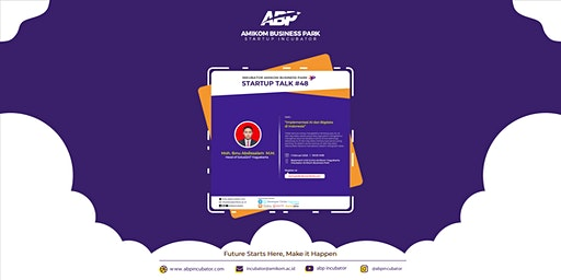 "Startup Talk #48 ""Implementasi AI dan Big Data di Indonesia"""