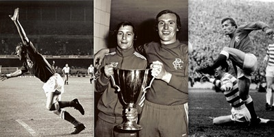 An evening with Rangers legends Willie Johnston & Colin Stein in Kirkcaldy