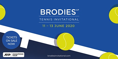 Brodies Tennis Invitational Friday 12 June  2020 - Session 2 tickets